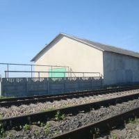Станция Лановцы. Пакгауз, Лановцы