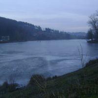 Miejskie jezioro w m.Monastyryska, Монастыриска