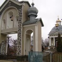 Kaplica w m. Monastyryska, Монастыриска