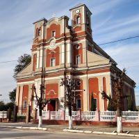 Монастириська - костел Успіння Пречистої Діви Марії, Monastyryska - church, 1751, Монастыриска