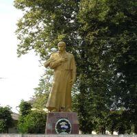 Памятник Т.Г. Шевченку (Monument of Taras Shevchenko), Монастыриска