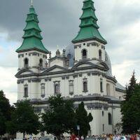 Костёл монастыря доминиканцев (целиком, вид спереди), Тернополь