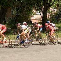 Bike race in Ternopil, Тернополь