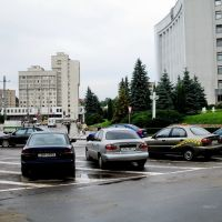 Тернопіль.Перед мерією.*, Тернополь