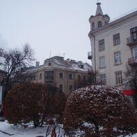 Скамейка, Тернополь