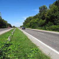 333 км трассы Е-85 (М-19), Шумское