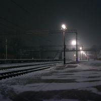 ЖД Вокзал ночью 18.12.2009 3, Балаклея