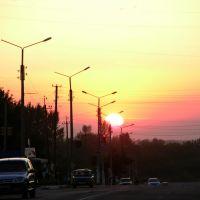 Закат в городе 18.07.2010, Балаклея