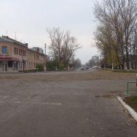 ул. Октябрьская (2010.11.05) вид от проходной, Балаклея