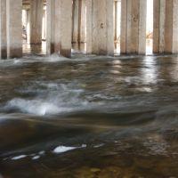 Река под мостом 19.04.2011, Балаклея