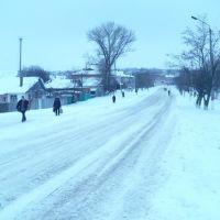 Зима в Барвінковому, Барвенково