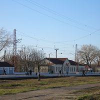 пгт.Близнюки ж/д вокзал, Близнюки