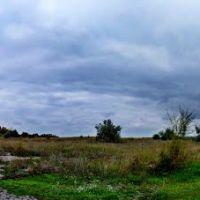 Бывший аэродром, панорама, Близнюки