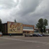 Вид на Дом культуры г. Богодухова, Богодухов