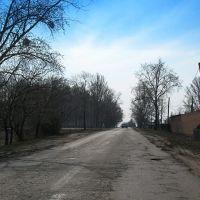 перекрёсток, Богодухов