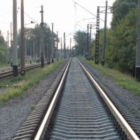 the rails on Novozhanovo, Боровая
