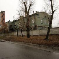 The buildings of the Kharkiv coking plant - Корпуса Харьковского коксового завода, Боровая