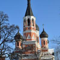 Харьков. Трехсвятительская (Гольберговская) церковь, Боровая