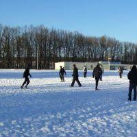 зимний футбол, Буды