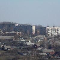 Вид на город, Валки