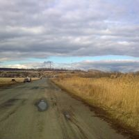 Дорога вокруг В. Бурлука, Великий Бурлук