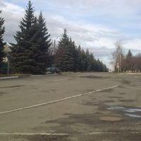 Дорога в центр., Великий Бурлук