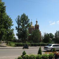У центрі Вовчанська, Волчанск