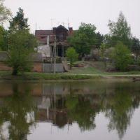 Вид с озера, Гуты