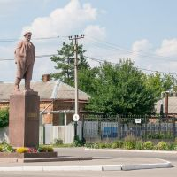 Ленин в Дергачах., Дергачи