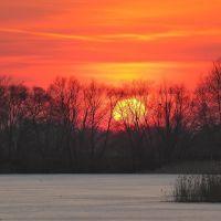 Захід сонця, Зидьки