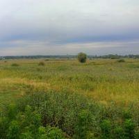 г.Змиев на окраине города (панорама), Зидьки