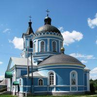 Вознесенский храм в пгт Золочев, Золочев
