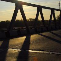 Железо-бетонный мост, Изюм