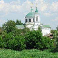 Вид на церковь, Изюм