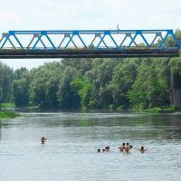 Мост через реку Северский Донец, Изюм