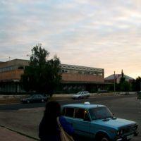 Morning at Izyum bus station, Изюм