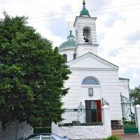 Изюм. Крестовоздвиженская (Николаевская) церковь, Изюм