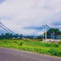 Изюм - пешеходный мост через Сев. Донец, Изюм