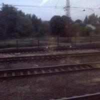 Станция Казачья Лопань - Из окна поезда, Казачья Лопань
