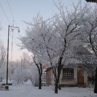 Kegychivka winter, Кегичевка