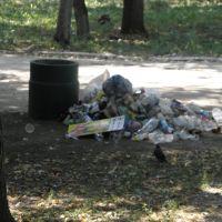 Куча мусора - произведение неизвестного художника, Красноград