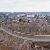 Красноград, панорама с телевышки 2, Красноград