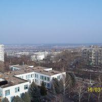 Вид с 12 дома., Купянск