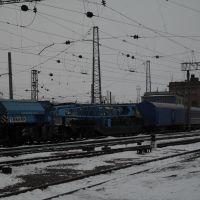 Восстановительный поезд ст.Лозовая., Лозовая
