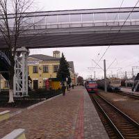 Лозовая. Железнодорожный вокзал после реконструкции., Лозовая