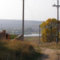 Вид на третий пруд, Люботин