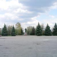 пгт.Новая Водолага памятник Ильичу на центральной площади, Новая Водолага