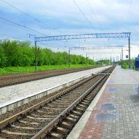 Станция Водолага, фото 5. Vodolaga station, photo 5., Новая Водолага