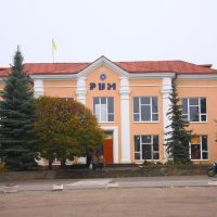 новая Водолага, центральная площадь / Novaya Vodolaga, central area, Новая Водолага