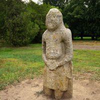 Cumanian statue, Аскания-Нова